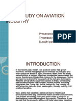 Case-study on Aviation Industry