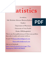Statistics Khaled Bhuiyan