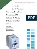 WEG Cfw 10 Manual Do Usuario 0899.5860 2.2x Manual Portugues Br