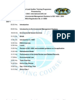ISO 14001 2004 Lead Auditor Programme