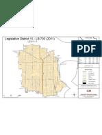 Nebraska Legislature District 11 Legislative Map