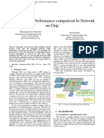 TCP and UDP Performance comparison In Network on Chip