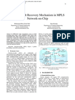 Layer 3 Fault Recovery Mechanism in MPLS Network-on-Chip