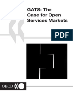 GATS the Case for Open Services Markets