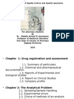 Quality Control and Drug Analysis