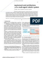 Formal requirement and architecture specifications of a multi-agent robotic system