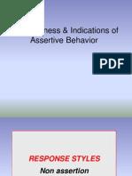 Assertive Behaviour