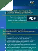 Evaluación Psicológica de pacientes drogodependientes_Oct2011
