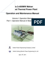 Part 1 Operation Manual of Steam Turbine