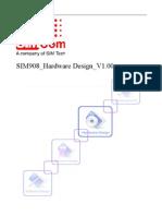 SIM908 Hardware Design V1.00(110715)