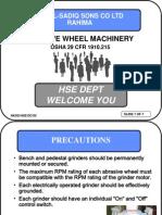 Abrassive Wheel Machinery