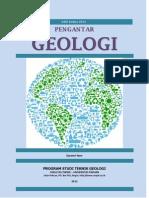 Cover Buku Geologi Dasar 2012