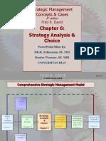 Pertemuan 7 Manajemen Strategik