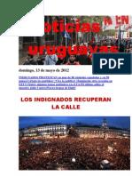 Noticias Uruguayas Domingo 13 de Mayo 2012