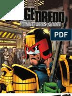 Judge Dredd Minis Rulebook