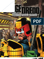 Judge Dredd Minis Rulebook