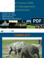 Conflict Management - Introduction Final MSP 2008