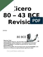 Revision 80BCE - 43BCE