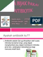 Cara Bijak Pakai Antibiotik
