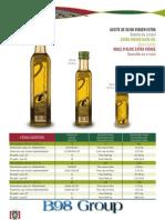 B98 Group Olive Oil Catalog