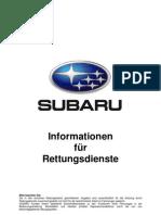 SUBARU Emergency Response Guide