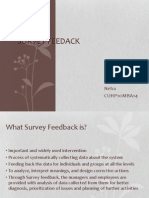 Survey Feedack