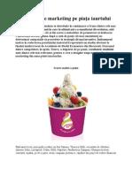 Strategii de marketing pe piaţa iaurtului