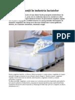 Coagulanţii în industria lactatelor