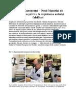 Comisia Europeană – Noul Material de Referinţă cu privire la depistarea untului falsificat