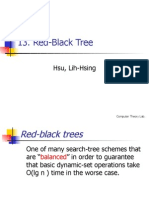 13 Red-Black Trees