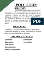 Pollution Slides