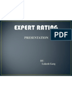 Expert Rating