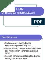 10. Kedaruratan ginekologi