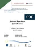 Diagnoza-Doctoratul Si Organizarea Scolilor Doctorale