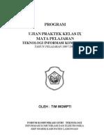 Program Ujian Praktek