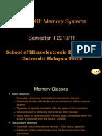 Week 7 - Memory System