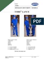 MTD002 - TORE® LANCE