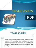 Trade Union History