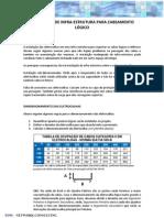 Manual de instalação de infra-estrutura