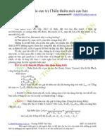 Phần 3 - Cách làm mới của bài tập f biến thiên [Dành cho Thi ĐH]