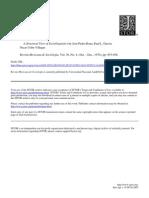 A Structural View of Sociolinguistics J. P. Rona