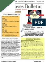 December 2008 Braves Bulletin
