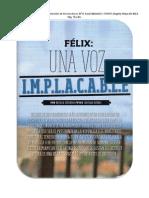 Revista Bocas - Félix, Una Voz I.M.P.L.A.C.A.B.L.E