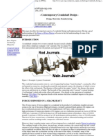 Crankshaft Design, Materials, Loads and Manufacturing, By EPI Inc