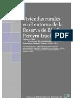Viviendas rurales en el entorno de la Reserva de Biosfera Pereyra Iraola