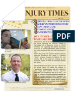 NY Injury Times-New May 2012 Newsletter Now Available!