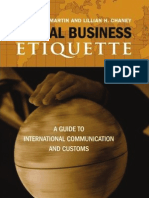 Global Business Etiquette a Guide to International Communication and Customs