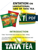 Presentation on Tata Tea