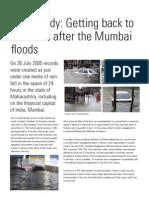 Case Study Back 2 Biz After Mumbai Floods