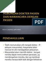 Hubungan Dokter Pasien Dan Wawancara Dengan Pasien